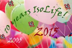 10 Jaar IsoLife balloons